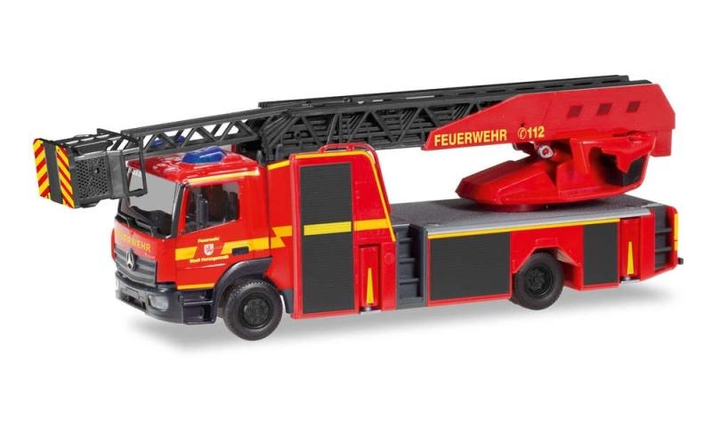 MB Atego `13 Drehleiter Feuerwehr Herzogenrath, 1:87 / H0
