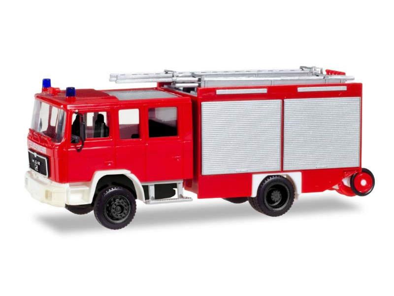 MAN M 90 LF 16 Löschfahrzeug Feuerwehr, 1:87 / H0