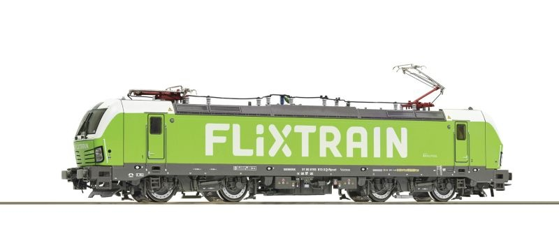 Elektrolokomotive BR 193 Flixtrain, Sound, AC, Spur H0