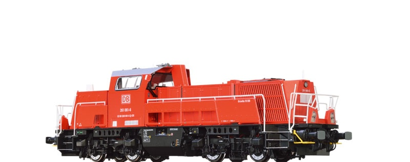 Diesellok Gravita 261 der DB AG, VI, Digital EXTRA, DC, H0