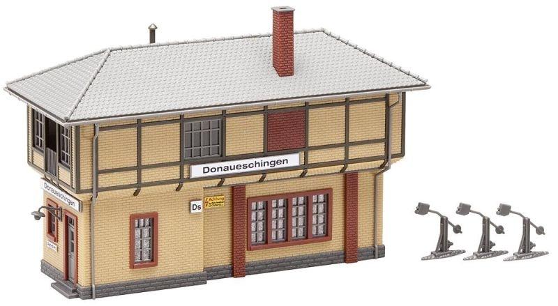 Stellwerk Donaueschingen Bausatz, Spur H0