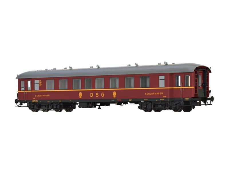 Schlafwagen WL4ü-36/50 der DSG, III, Spur H0