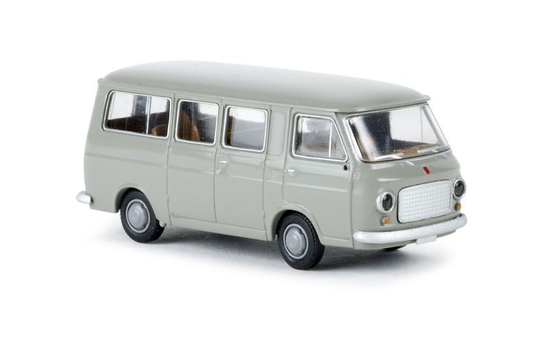 Fiat 238 Bus, steingrau, TD, Spur H0