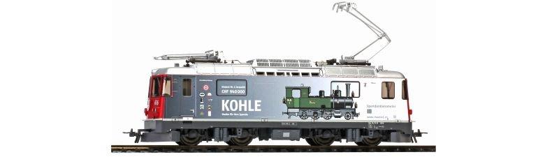 RhB Ge 4/4 II 616 Spenden-Lok Kohle mit Loksound, Spur H0m