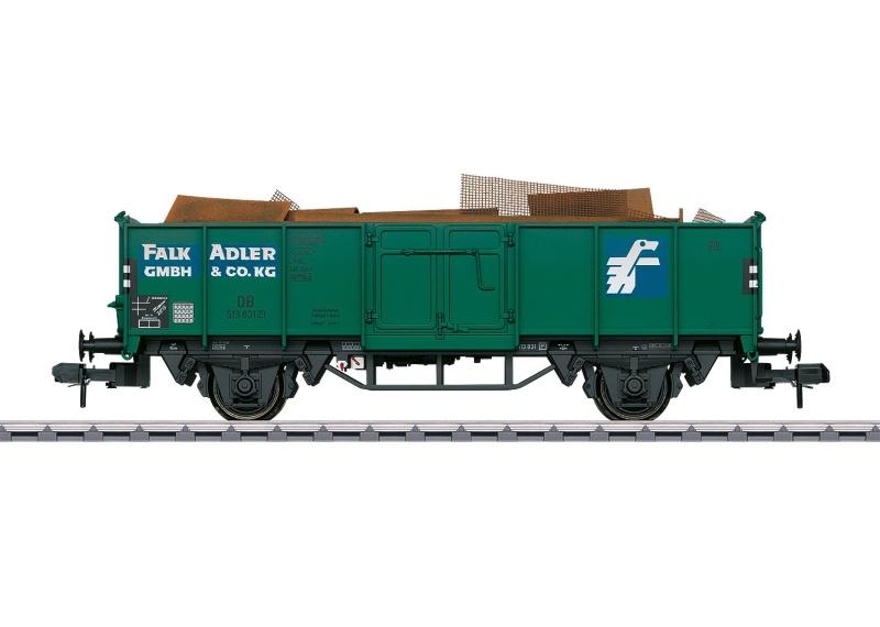 Museumswagen 2015, Güterwagen Typ Omm 55, DB, Spur 1