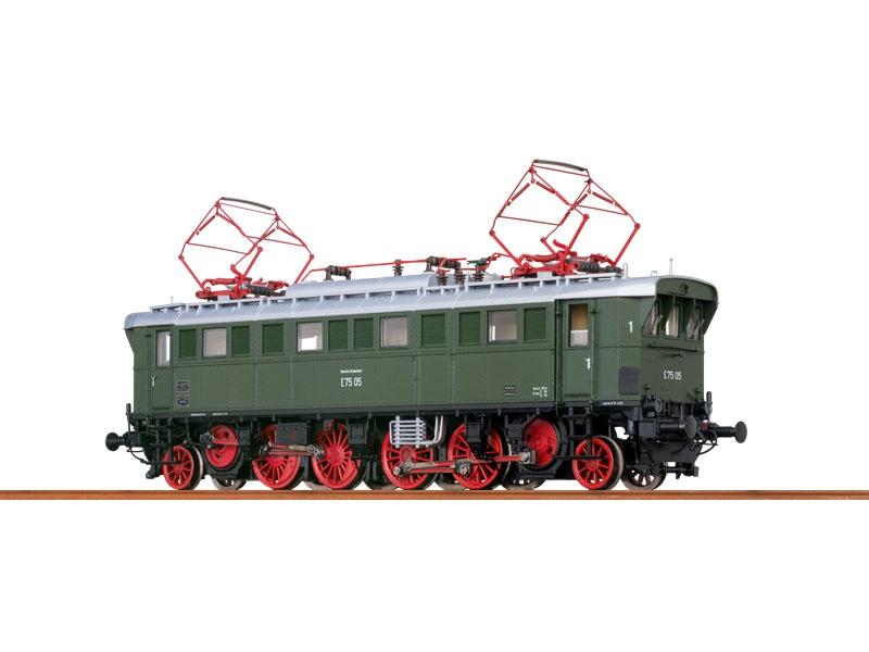 E-Lok E75 der DB, III, AC Digital EXTRA, H0