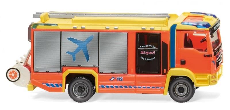 Feuerwehr, AT LF, MAN TGM Euro 6/Rosenbauer, 1:87, H0