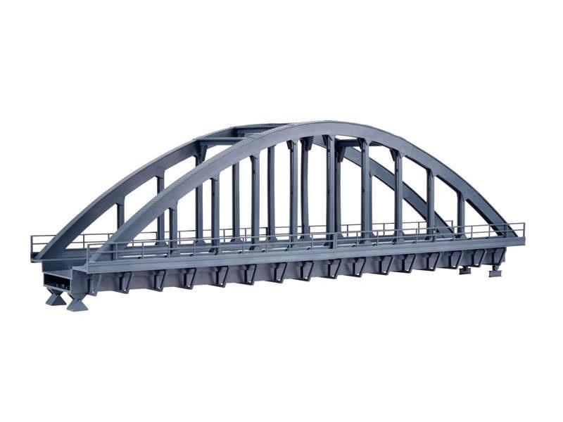 Stahlbogenbrücke, gerade, Bausatz, Spur H0