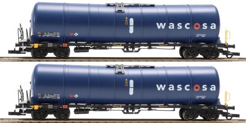 2-tlg Set Zacns 99 Wascosa, blau blau 3, Ep. VI, DC, H0