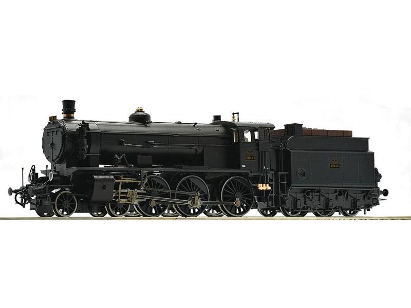 Dampflok Rh 209 der BBÖ, DC, Spur H0