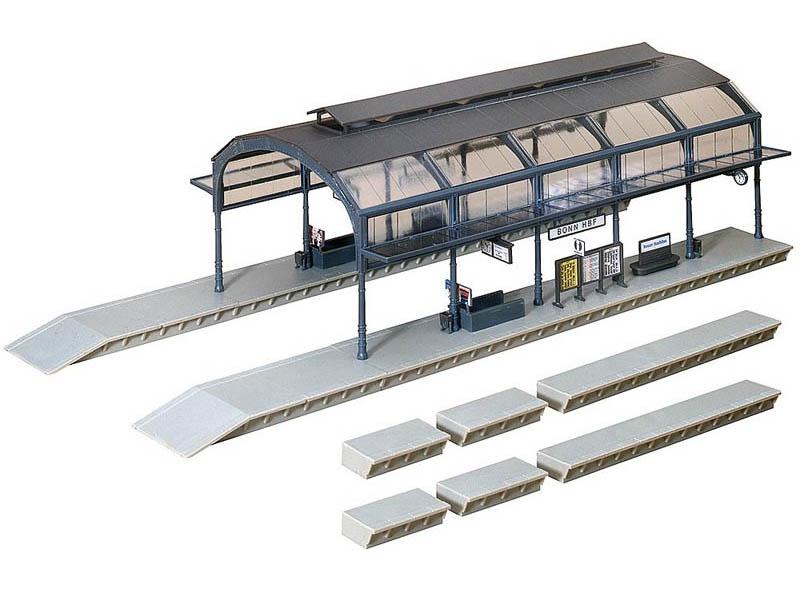 Bahnhofshalle Bausatz H0