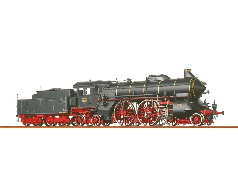 Dampflok BR 15 der DRG, II, AC, Digital, H0
