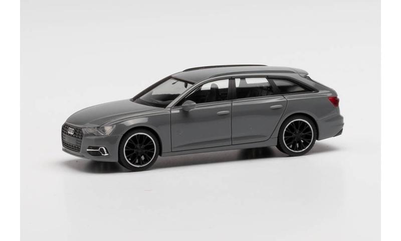 Audi A6 Avant Black Edition, nardograu, 1:87 / Spur H0