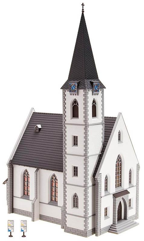 Kleinstadtkirche Bausatz H0