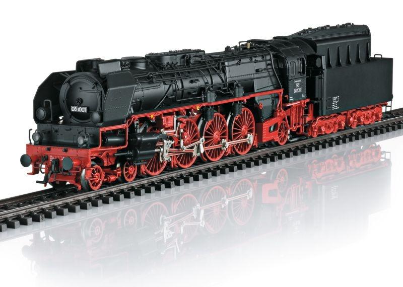 Dampflokomotive Baureihe 08 der DDR, Sound, mfx+, DCC, H0