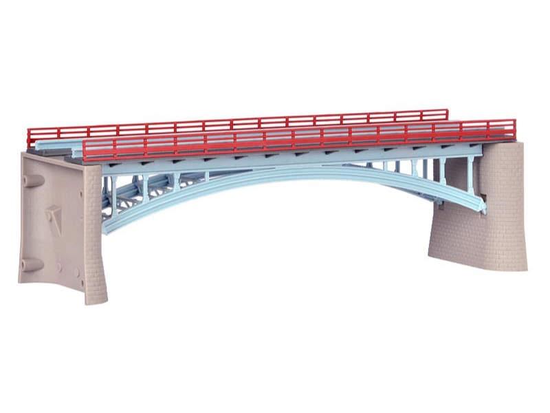 Werra-Brücke, ein-/zweigleisig, Bausatz, Spur N/Z