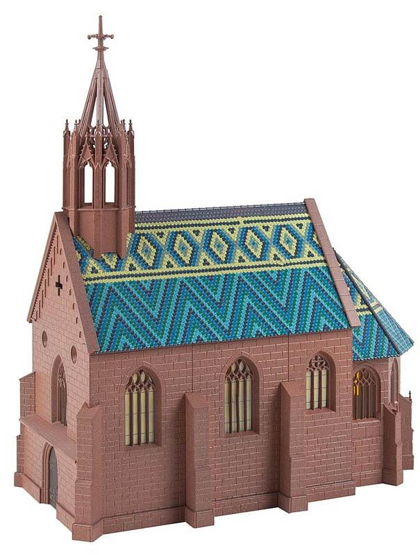 Kirche St. Johann Bausatz H0