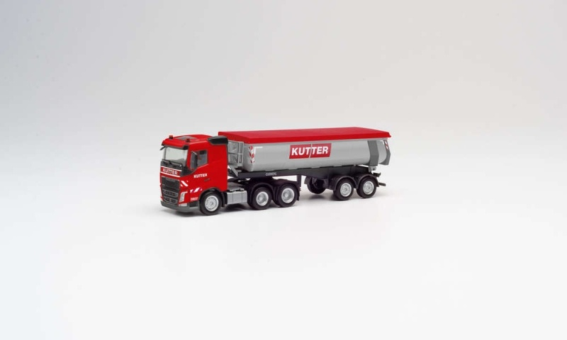 Volvo FH FD 6x4 Thermomulden-Sattelzug Kutter, 1:87 / H0