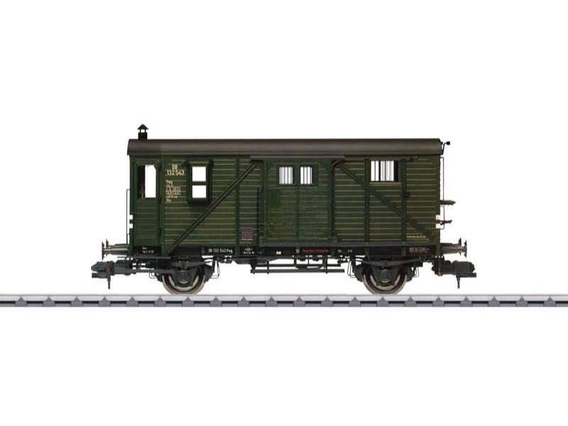 Güterzug-Gepäckwagen Pwg Pr 14 DB Spur 1