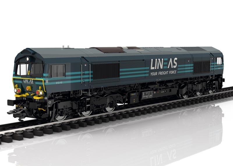 Diesellok Class 66 der LINEAS, Sound, mfx+ DCC, AC, Spur H0