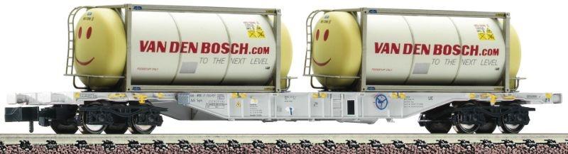 Fleischmann 825211 AAE VI Containerwagen mit Tankcont Spur N NEU//OVP