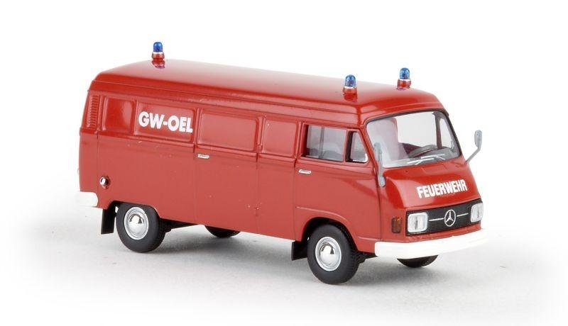 MB L 206 D Kasten Feuerwehr GW Öl von Starmada, Spur H0