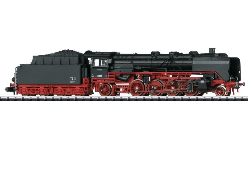 Dampflokomotive BR 41 der DB, Minitrix Spur N