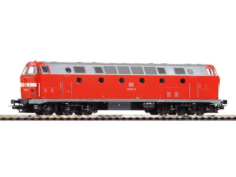 Diesellok 219 der DB AG, Licht unten, Epoche V, Spur H0