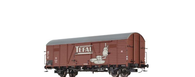 Gedeckter Güterwagen GLR Tefal der DB, Epoche III, Spur H0