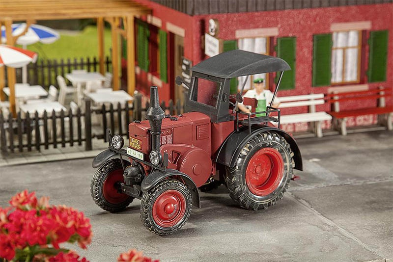 Lanz Bulldog Traktor Spur G