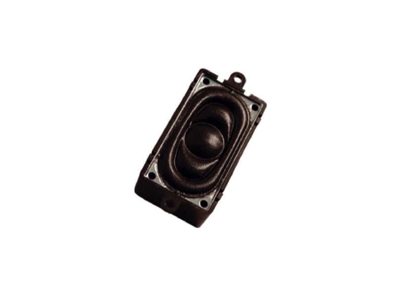 Lautsprecher 20x40mm, rechteckig, 4 Ohm, mit Schallkapsel