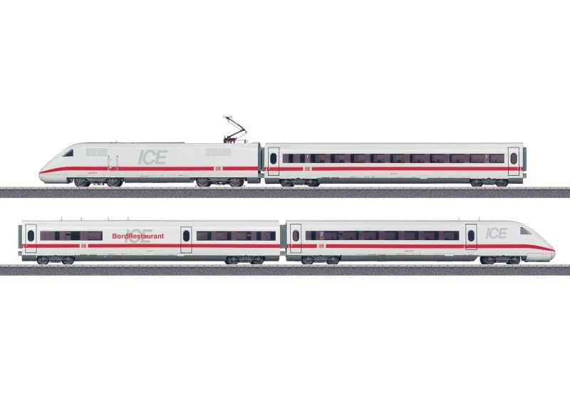 Zugpackung Hochgeschwindigkeitszug ICE 2 DB AG Sound mfx H0