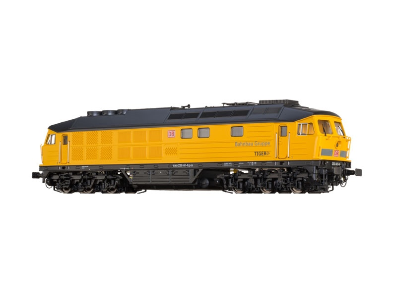 Diesellok BR 233 DB AG, Bahnbau Gruppe, DC, Sound, Spur N