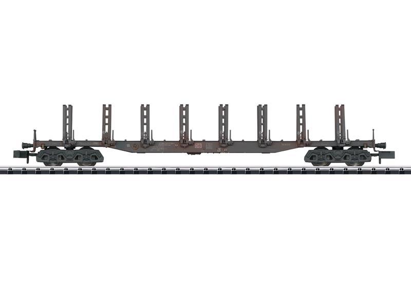 Güterwagen Bauart Snps der DB AG, Minitrix Spur N