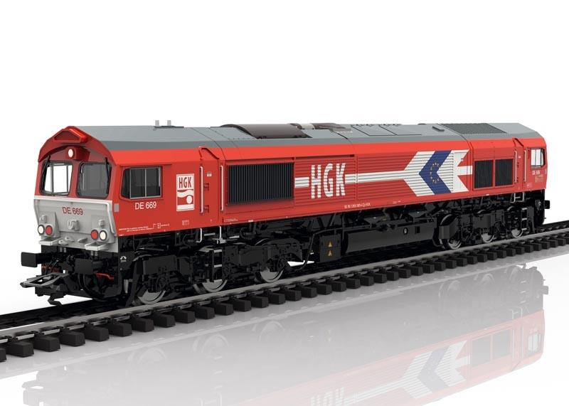 Diesellok Class 66 der HGK, Sound, mfx+ DCC, AC, Spur H0