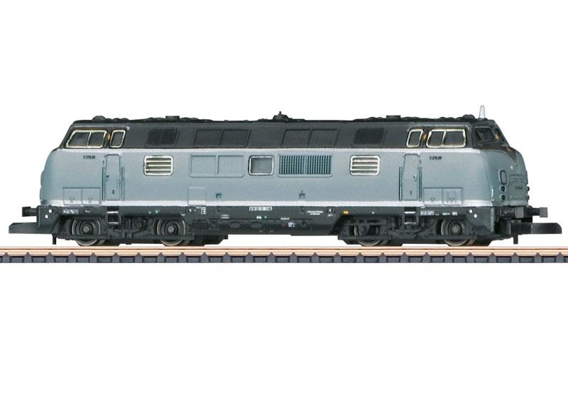 Diesellokomotive Baureihe V 270 der SGL, Spur Z