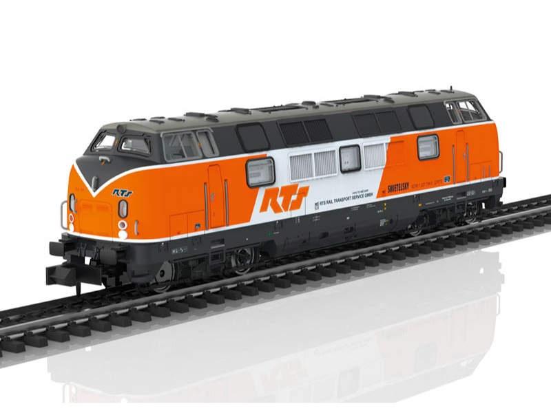 Diesellok Baureihe 221 RTS Spur N