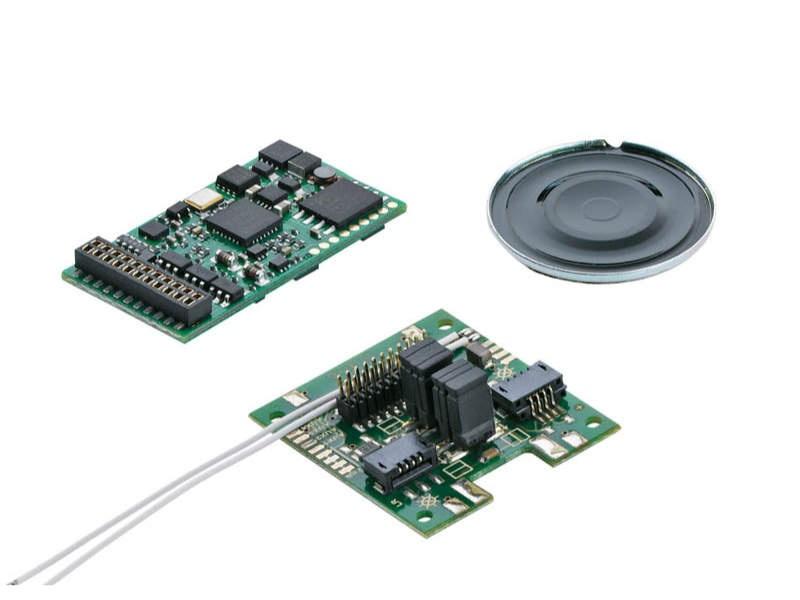 SoundDecoder mSD3 für Start Up-E-Loks H0