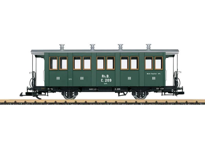 RhB Personenwagen 3.Kl. C 209 Spur G