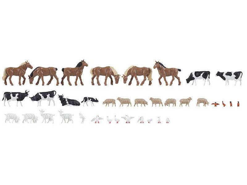 36 Tiere auf dem Bauernhof H0