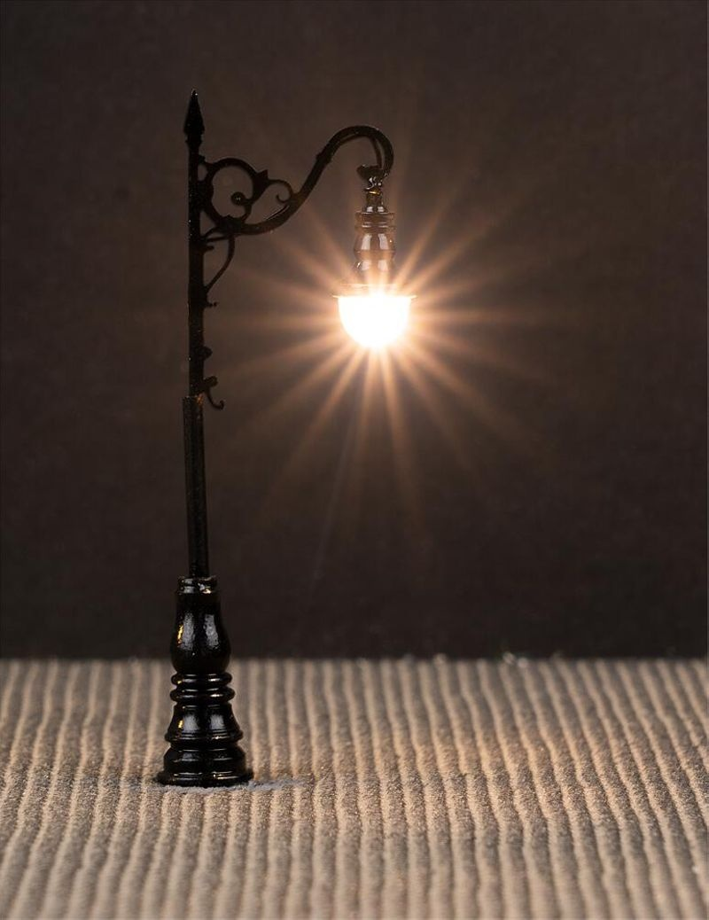 LED-Laterne, Bogenleuchte, 3 Stück, Spur N
