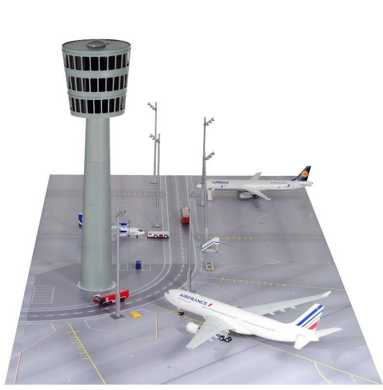 Airport Tower Bausatz 1:200