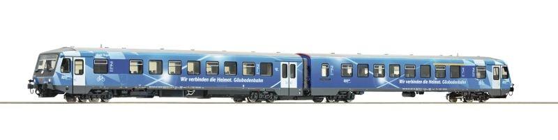 Sound-Dieseltriebzug BR628.4 der DB-AG, AC, Ep. VI, Spur H0
