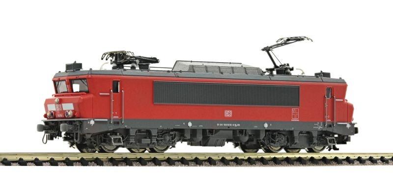 Elektrolokomotive 1616 rot der DB AG, Sound, Spur N