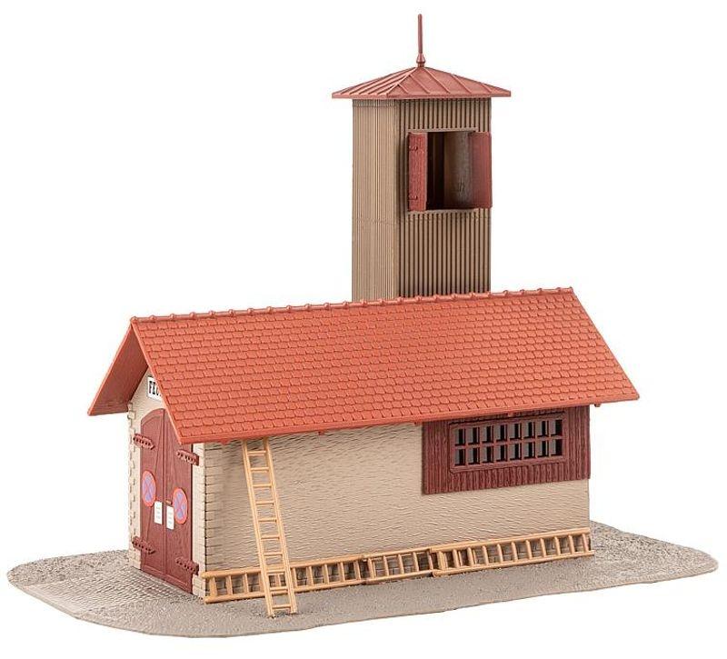 Feuerwehrgerätehaus Bausatz Hobby-Programm H0