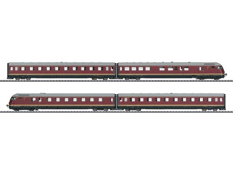 Triebwagenzug VT 08.5 TEE 185 DB H0