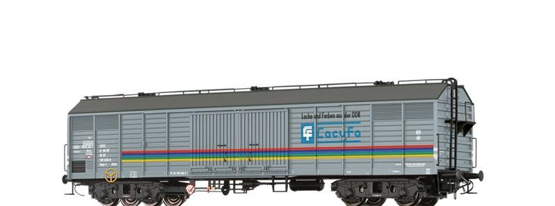 Gedeckter Güterwagen Gags-v Lacufa der DR, DC, Spur H0