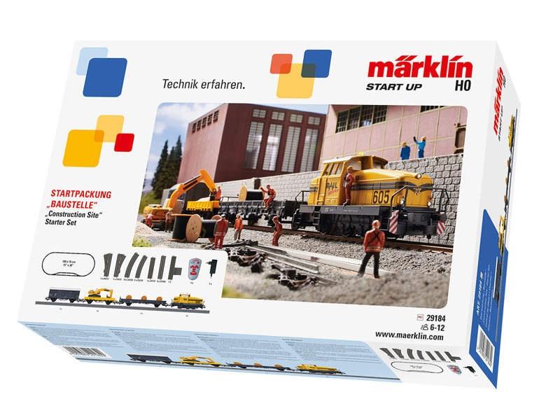 Start up - Startpackung Baustelle C-Gleis H0