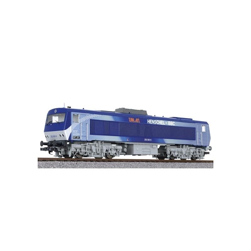 Diesellok DE2500 202 003-0, 4-achsig, DB, UmAn, Ep.IV, H0