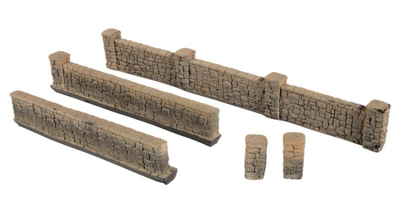 Mauern aus Sandstein, Spur H0